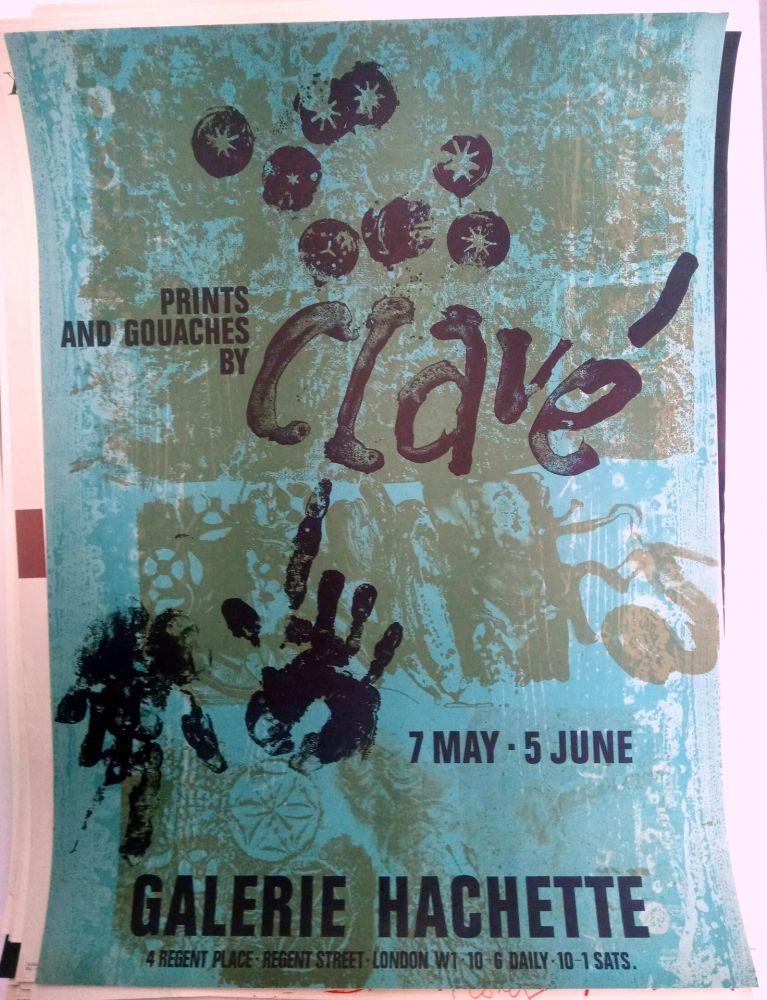 Plakat Clavé - Galeria Hachette 7 May 5 Jun