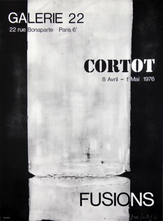 Lithographie Cortot - Galerie 22