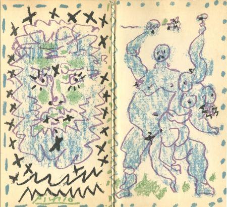 Lithographie Picasso - Galerie Berggruen, Dessins d'un demi-siècle
