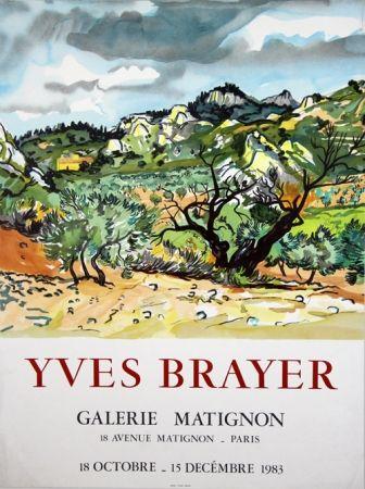 Lithographie Brayer - Galerie de Matignon