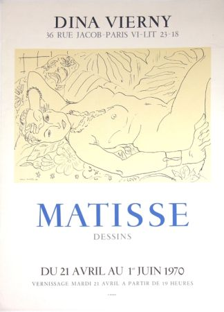 Lithographie Matisse - Galerie Dina Vierny