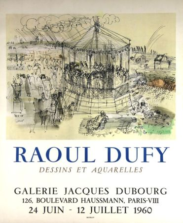 Lithographie Dufy - Galerie Jacques Dubourg