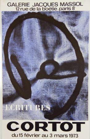 Lithographie Cortot - Galerie Jacques Massol  1973