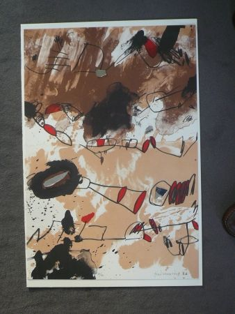 Lithographie Guinovart - Galerie Joan Prats