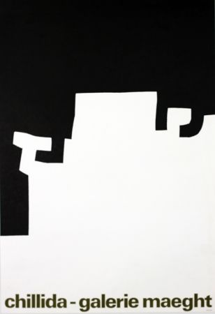 Lithographie Chillida - Galerie Maeght