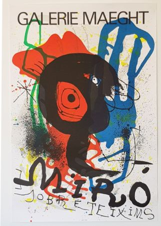 Lithographie Miró - Galerie Maeght