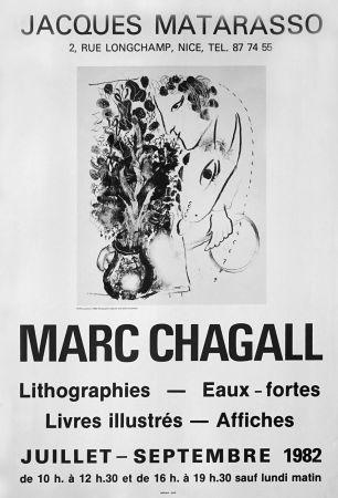 Plakat Chagall - '' Galerie Matarasso ''