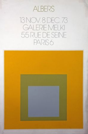 Lithographie Albers - Galerie Melki