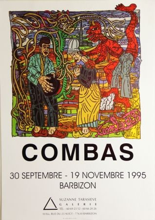 Siebdruck Combas - Galerie Suzane Tarasieve