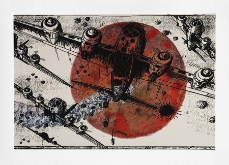Digitale Druckgrafik Malani - Games of War
