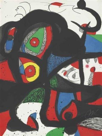 Radierung Und Aquatinta Miró - Gargantua
