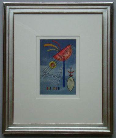 Lithographie Kandinsky - Geneigter Halbkreis