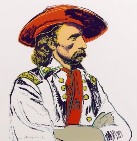 Siebdruck Warhol - General Custer