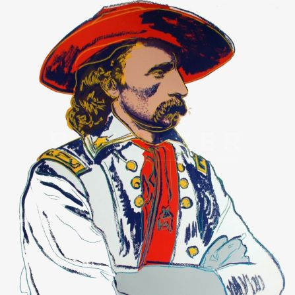 Siebdruck Warhol -  General Custer (FS II.379)