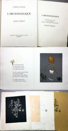 Illustriertes Buch Herold - Georges Bataille : L'ARCHANGÉLIQUE. Notes sur Georges Bataille par Patrick Waldberg.