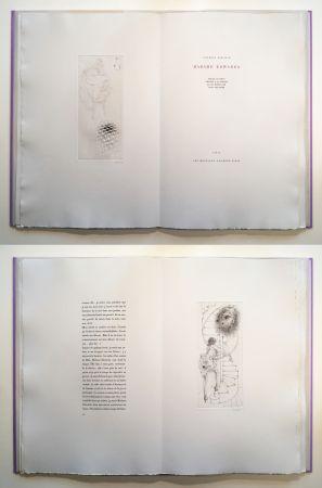 Illustriertes Buch Bellmer - Georges Bataille : Madame Edwarda. 12 gravures originales signées (1965).