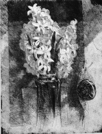 Radierung Calandri - Giacinti
