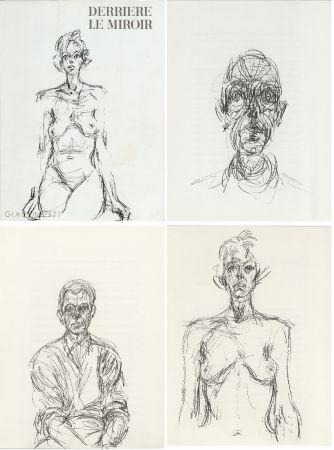 Illustriertes Buch Giacometti - GIACOMETTI. DERRIÈRE LE MIROIR N°127. Mai 1961