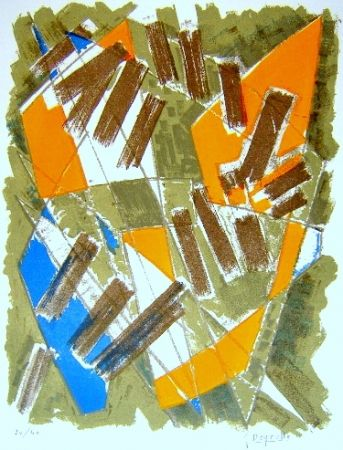 Lithographie Deyrolle - Gildo
