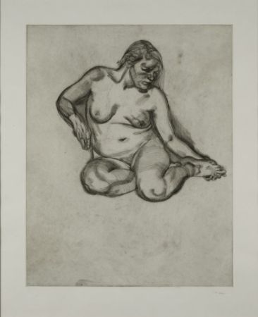 Stich Freud - Girl Holding Her Foot