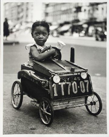 Fotografie Stein - Girl in Car, New York
