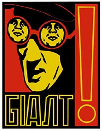 Siebdruck Fairey - Glasses
