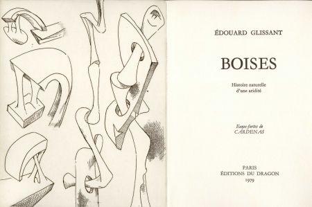 Illustriertes Buch Cardenas - GLISSANT (Édouard). Boises. Histoire naturelle d'une aridité.