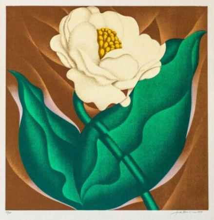 Siebdruck Brusca - Globe Flower