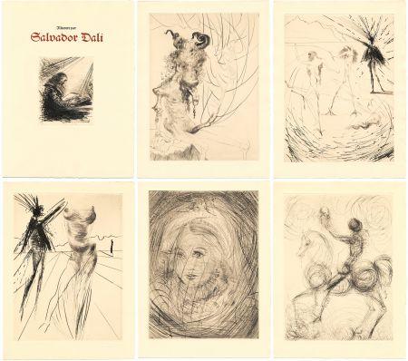 Illustriertes Buch Dali - Goethe : FAUST. 21 gravures originales (1969)