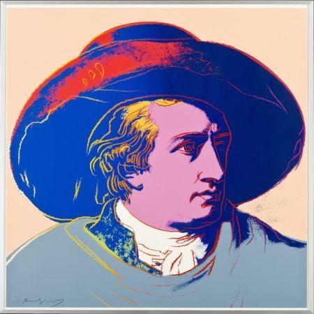 Siebdruck Warhol - Goethe FS II.273