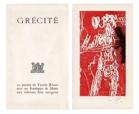 Illustriertes Buch Matta - Grécité