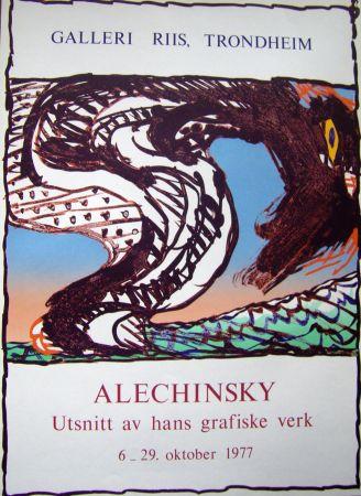 Plakat Alechinsky - Grafiske verk