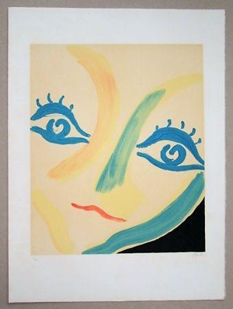 Lithographie Guidi - Grande Volto