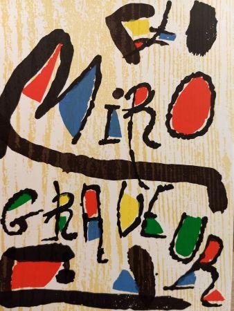 Illustriertes Buch Miró - Graveur 1