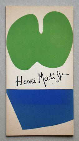Illustriertes Buch Matisse - Gravures Récentes