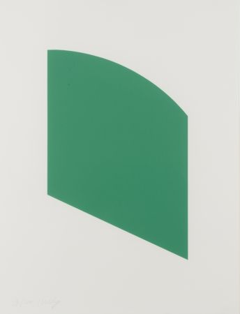 Lithographie Kelly - Green Curve