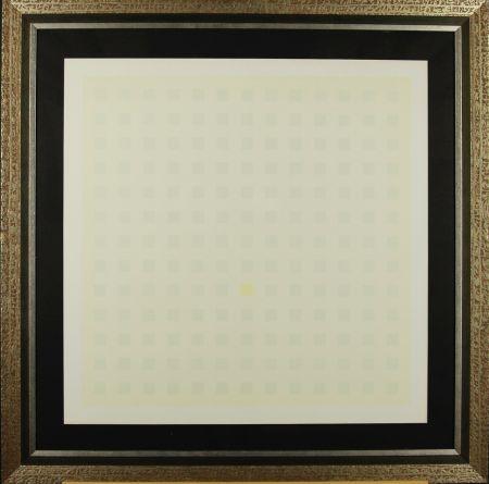 Siebdruck Calderara - Green Squares
