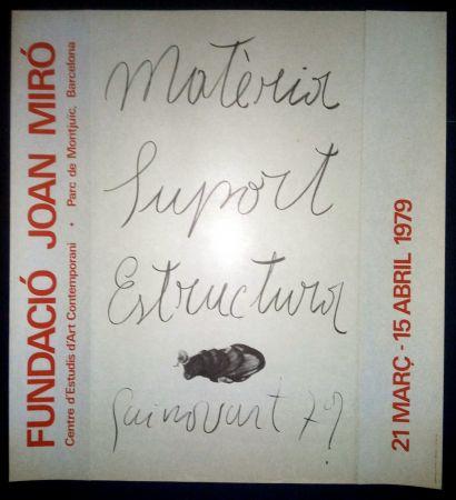 Plakat Guinovart - Guinovart - Fundació Miró