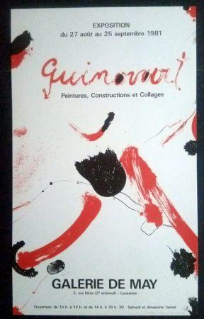 Plakat Guinovart - Guinovart - Peintures construccions et collages Galeria de May 1981