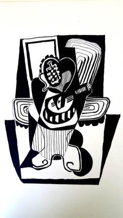Lithographie Picasso (After) - Hélène chez Archimède