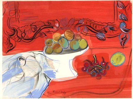 Illustriertes Buch Dufy - Héron de Villefosse : EAUX DE VIE (12 pochoirs de Raoul Dufy) 1952