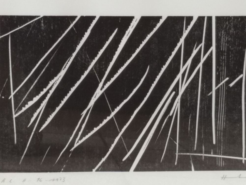 Lithographie Hartung - H16