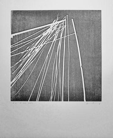 Holzschnitt Hartung - H 1973-21