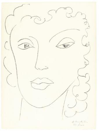 Lithographie Matisse - Haitïenne
