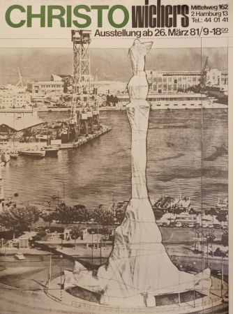 Plakat Christo - '' Hamburg ''