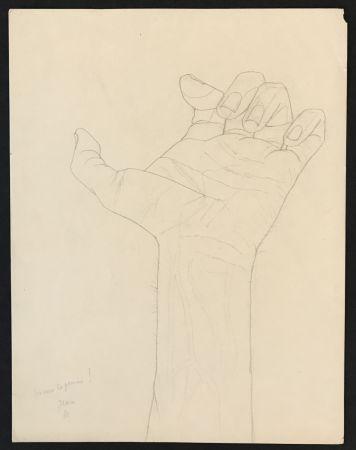 Keine Technische Cocteau - Hand Sketch