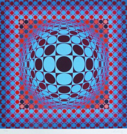 Multiple Vasarely - Hang