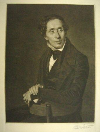 Mezzotinto Ilsted - Hans Christian Andersen