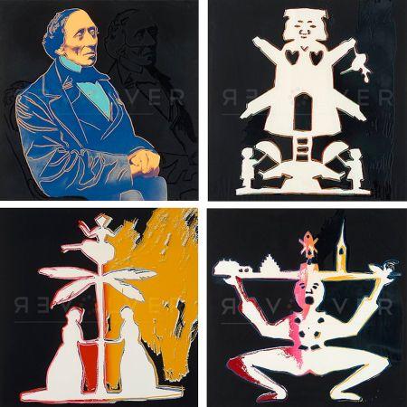 Siebdruck Warhol - Hans Christian Andersen, Complete Portfolio (FS II.394-397)