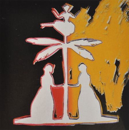 Siebdruck Warhol - Hans Christian Andersen (FS II.399)